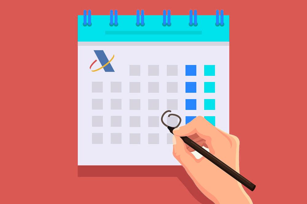 Calendario de SII