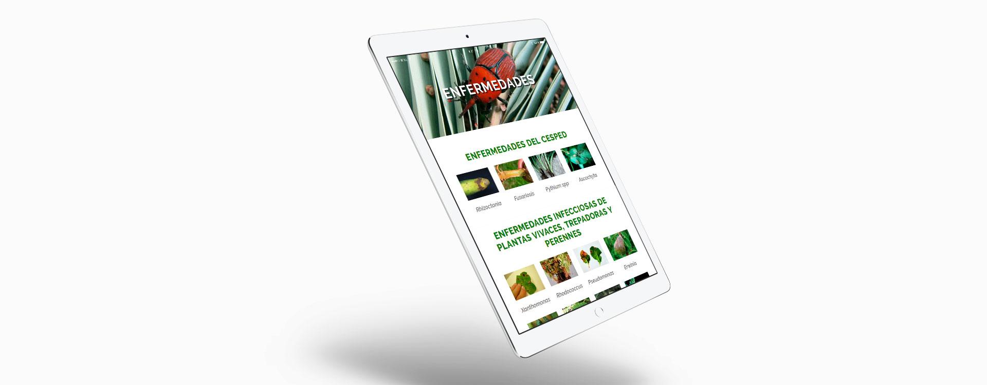 Diseño web lucaplant