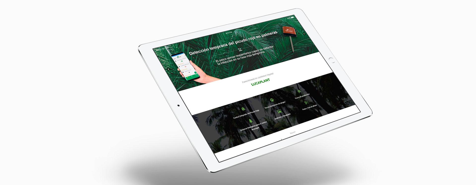 Proyecto diseño web lucaplant