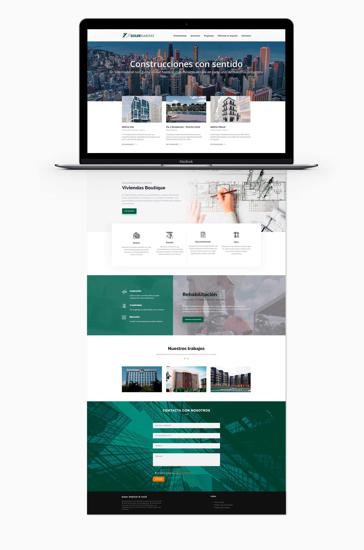 galilea TI Proyecto Diseño web soler habitat